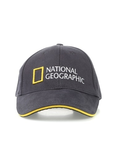 National Geographic Şapka Antrasit